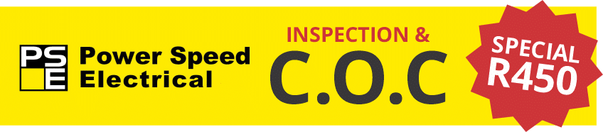 Power Speed Electrical Inspection & C.O.C special